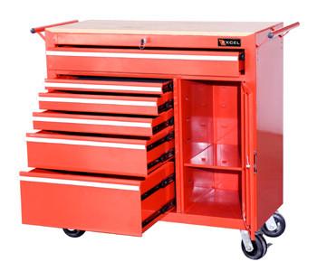 Heavy Duty Roller Cabinet (Red)
