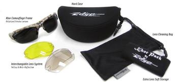 Edge Eyewear - Khor Polarized Camouflage Kit