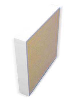 Aeolus Mini Pleat Plastic Frame Filters - Merv 8 (Tan, Choose Size)