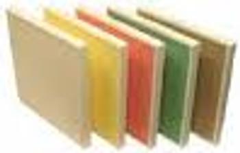Aeolus Mini Pleat Plastic Header Frame Filters - Merv 14 (Yellow, Choose Size)