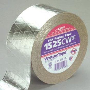 Venture - FSK Insulation Tape - 1525CW (3 in. X 50 yds.)