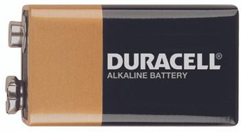 Duracell Alkaline Batteries (9V): MN1604BKD