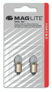 Mag-Lite Replacement Lamps: LWSA501