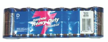 Heavy Duty Shrink Pack Batteries: HD-D