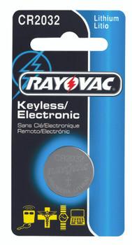 Rayovac Keyless Entry Batteries: KECR2032-1