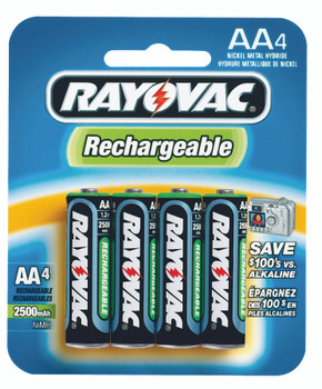 NiMH Rechargeable Batteries: NM715-4B