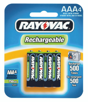NiMH Rechargeable Batteries: NM724-4