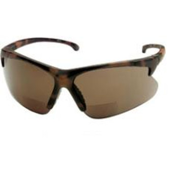 30-06 Safety Reader Glasses (Tortoise with Brown Lens): 3011712