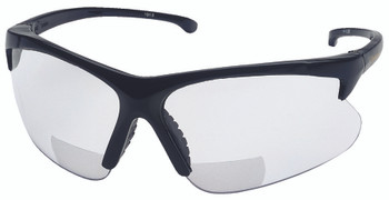 30-06 Safety Reader Glasses (Black with 2.0 Clear Lens): 3011718