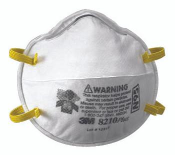 N95 Particulate Respirators: 8210PLUS