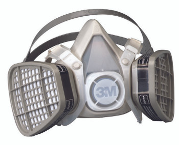 5000 Series Half Facepiece Respirators (Medium): 5201