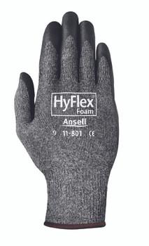 Ansell HyFlex Foam Gray Gloves: 11-801