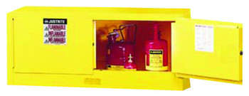 Justrite Yellow Piggyback Safety Cabinets: 891