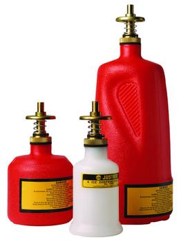Justrite Nonmetalic Dispensing Cans: 1400 Series