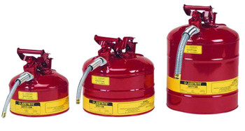 Justrite Type ll Safety Cans for Flammables: 10721 Series