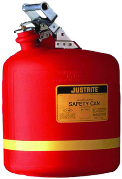 Justrite Nonmetallic Type l Safety Cans for Flammables: 14251 Series