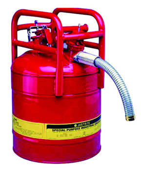 Justrite Type ll Transport and Dispensing Safety Cans: 10540, 10840, 10841
