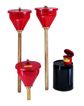 Justrite Safety Drum Funnels: 08201 Series