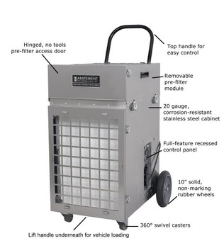 Abatement Technologies HEPA-AIRE® Portable Air Scrubber: PAS2400