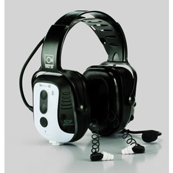 Sensear SM DUO SR With Bluetooth Double Hearing Protection: SMD Series