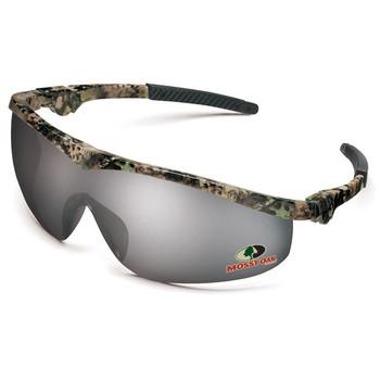 Crews Mossy Oak Safety Glasses: Camo/Choose Lens