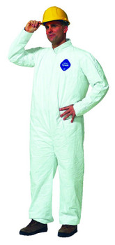 Dupont Tyvek Coveralls: Choose Size and Style