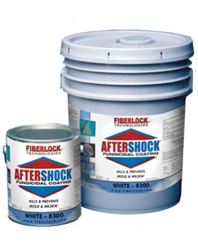 Fiberlock AfterShock - EPA Registered Fungicidal Coating: Choose Size