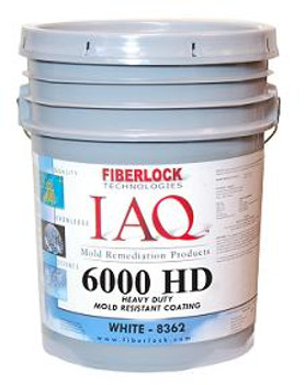 Heavy Duty Mold Resistant Coating - IAQ 6000HD (White): 8362