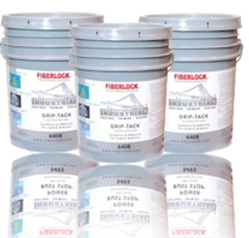 Fiberlock Specialty Coating - Grip-Tack: Adhesive and Demolition Lockdown: 6408