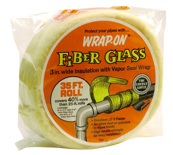 Wrap-On Pipe Insulation Wrap (35 ft.): Choose Quantity
