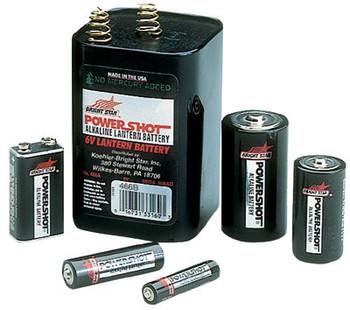 Bright Star Alkaline Batteries: Choose Size