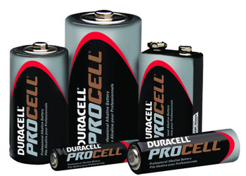 Duracell Procell Batteries: Choose Size