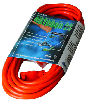Coleman Cable Vinyl Extension Cords: Choose Size