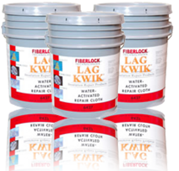 "Lag Kwik - Water Activated Repair Cloth (3 - 4"" X 150' Rolls): 6427"