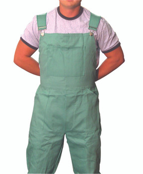 Cotton Sateen Bib Overalls: CA-135-2XL