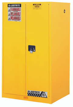Yellow Safety Cabinets for Flammables (90 Gallon, Self-Closing): 899020