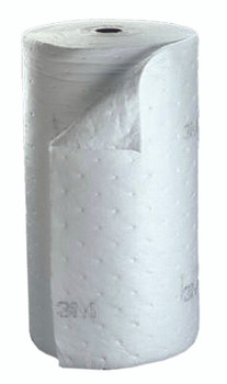 3M High-Capacity Petroleum Sorbent Rolls (38 in. X 144 ft. X 1/4 in.): HP-100