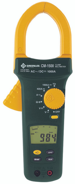 AC/DC Amp Clamp Meters (1.38 in.): CM-950