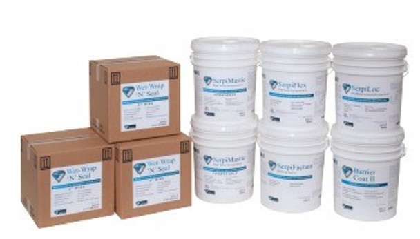 Barrier Coat II - Lead Encapsulant Coating (White, 5 Gallon): 2801-5