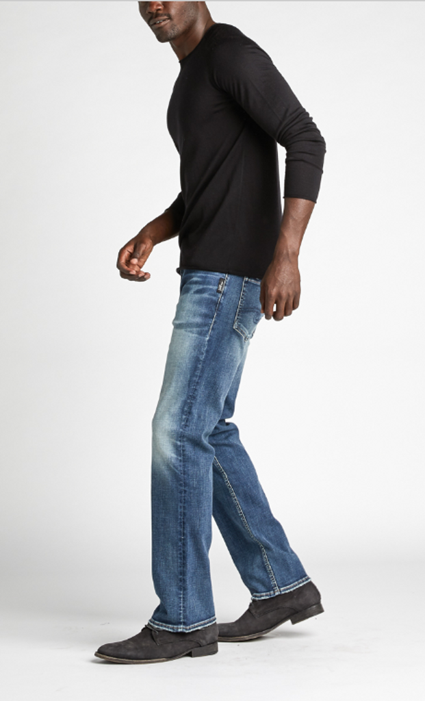b8b9bad5 Men's Allan Classic Fit Straight Leg Jeans by SIlver Jeans Co. side Click  here to enlarge