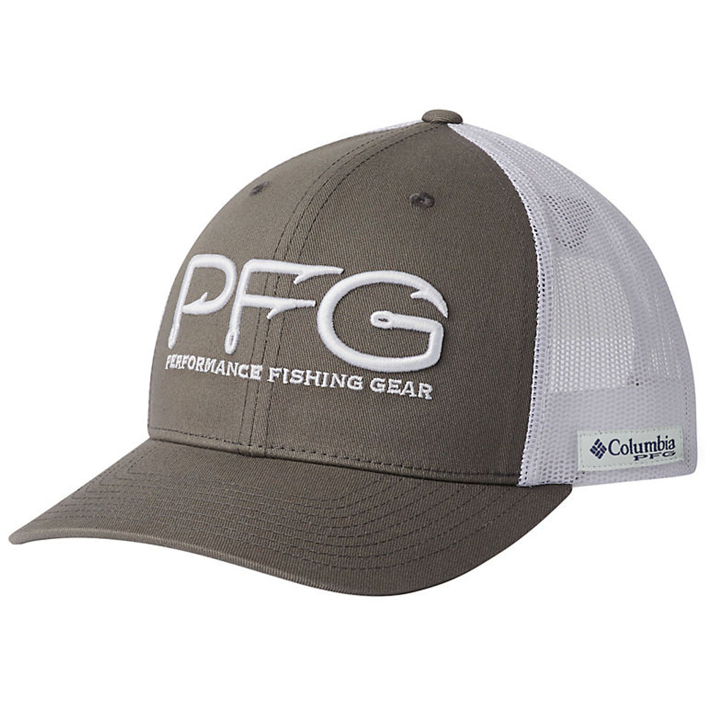 dc773e831a3c3e PFG Mesh Snap Back™ Hooks Ball Cap by Columbia front Click here to enlarge
