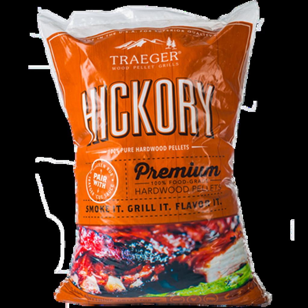 Traeger Hickory Premium Hardwood Pellets