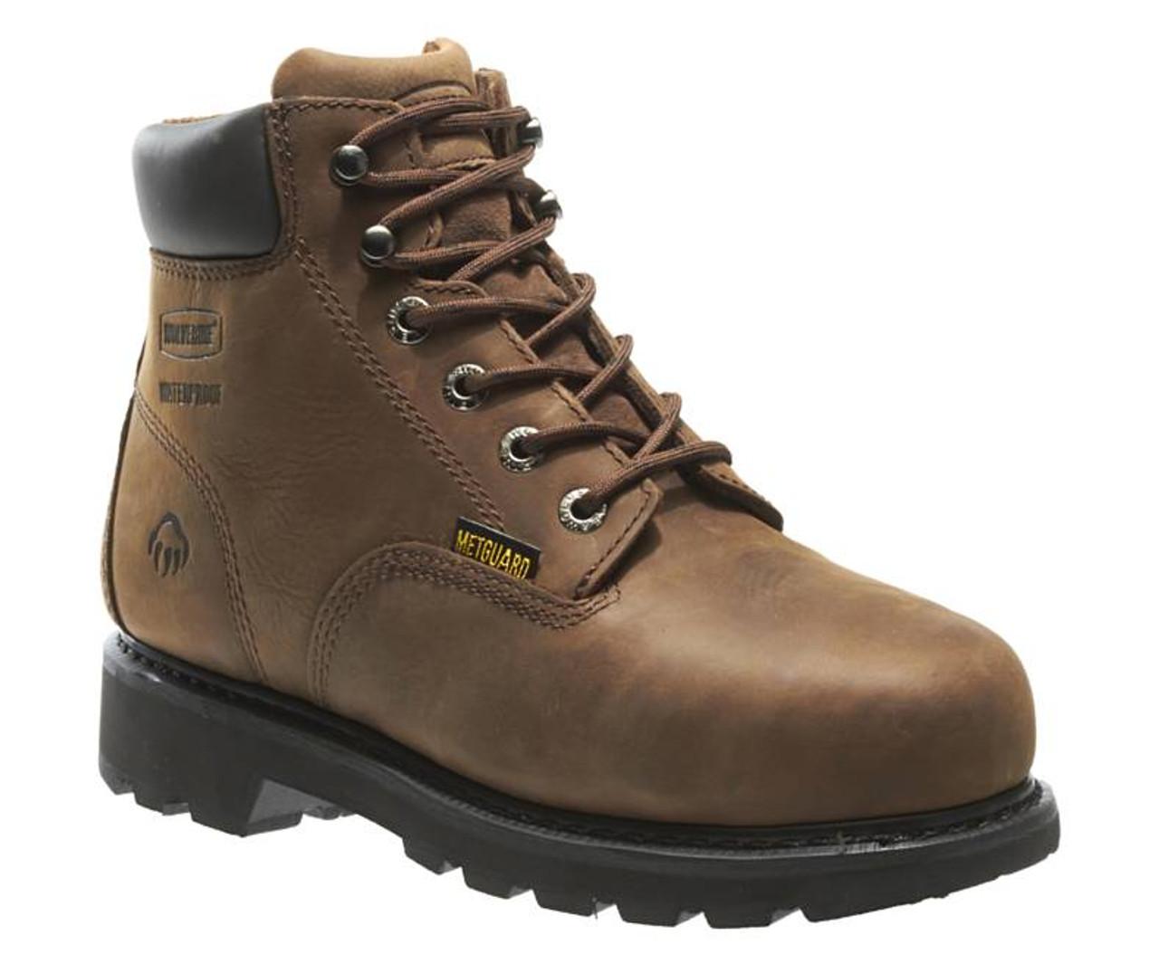 """ce30a0fc38a Men's McKay Waterproof Steel-Toe 6"""" Work Boot by Wolverine"""