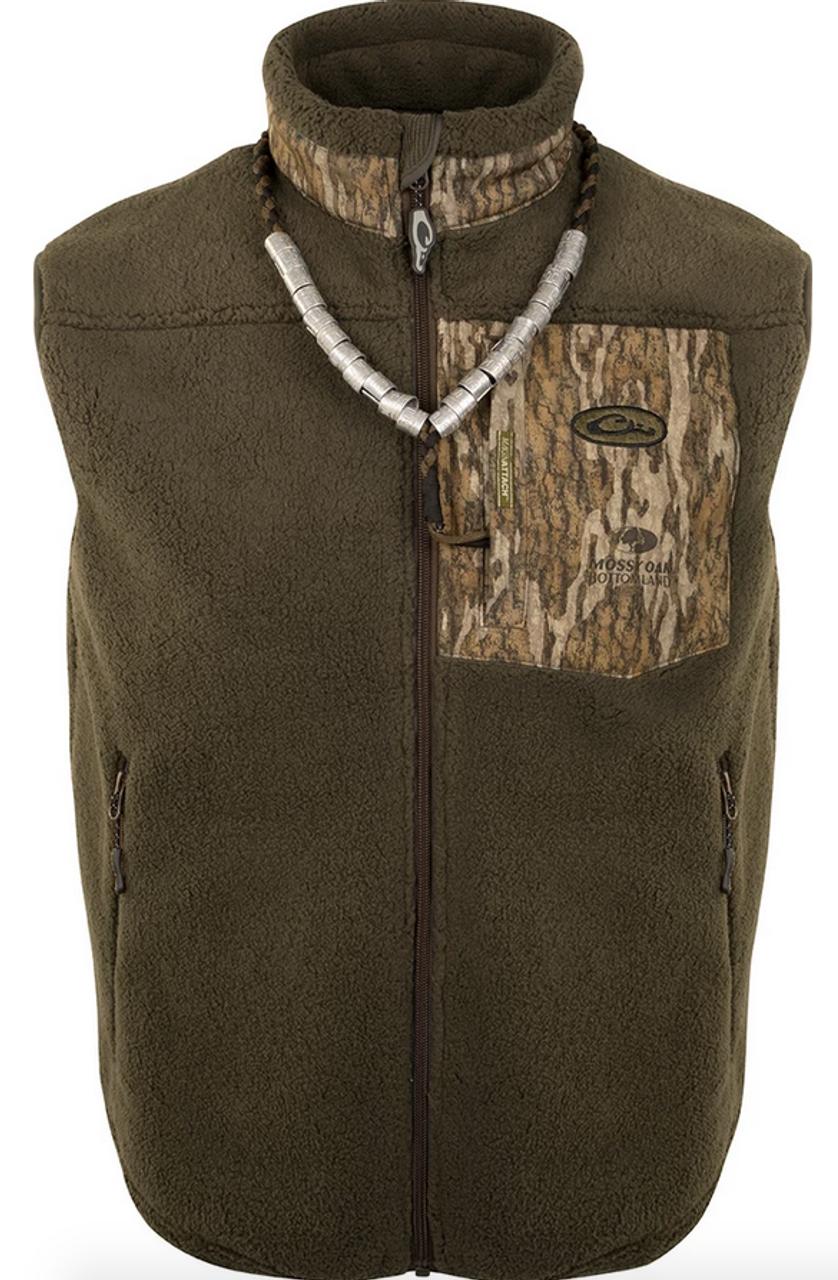 Drake MST Sherpa Fleece Liner Vest