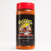 The Gospe All Purpose BBQ Rub 14o oz shaker by Meat Church