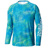 Men's PFG Super Terminal Tackle™ Long Sleeve Shirt by Columbia front