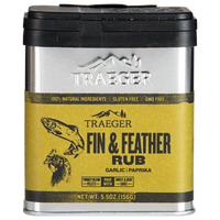 Traeger Fin & Feather Rub front