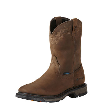 Ariat Men's WorkHog Wellington Waterproof Work Boot