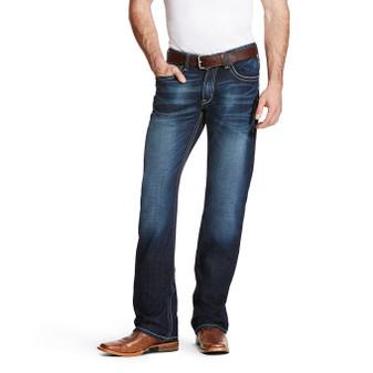 Ariat Men's M4 Low Rise Adkins Stretch Boot Cut Jean