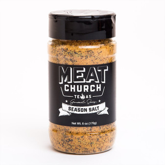 Gourmet Season Salt 6oz Bottle by Meat Church